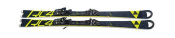 Fischer RC4 Worldcup SC Ski ohne Bindung schwarz