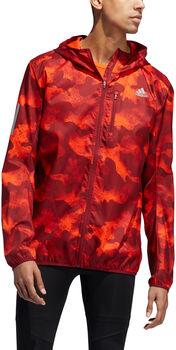 ADIDAS Own the Run Camouflage Laufjacke Herren orange