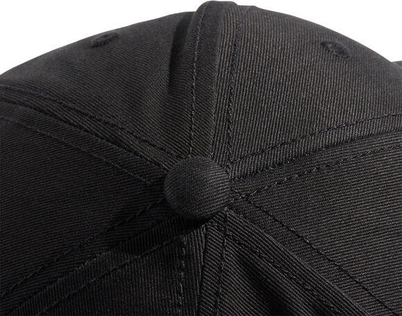 3-Streifen Twill Baseball Kappe
