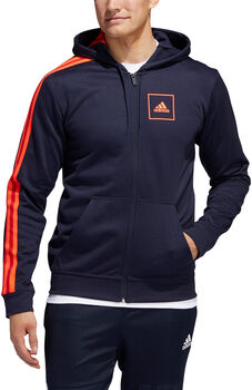 adidas Athletics Club Trainingsjacke Herren blau