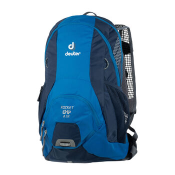 Deuter Rocket EXP Air Bikerucksack blau