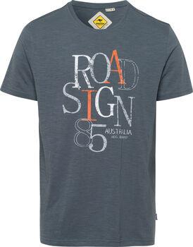 Roadsign 85 T-Shirt Herren grau