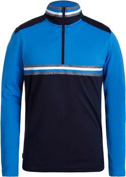 Luhta Haukila Langarmshirt mit Halfzip Herren blau