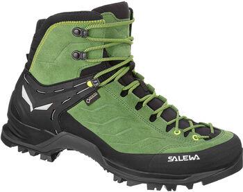 Salewa MTN Trainer Mid Trekkingschuhe Herren grün