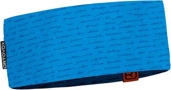 ORTOVOX 120 Tec Print Stirnband blau