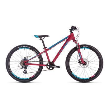 "CUBE Access 240 Disc Mountainbike 20"" rot"