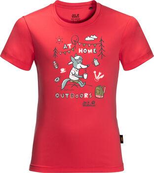 Jack Wolfskin Happy Camper T-Shirt rot