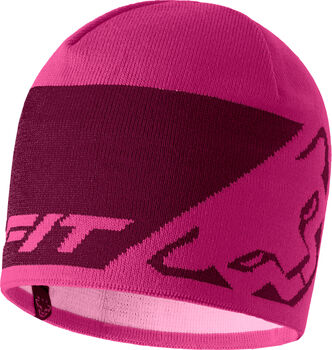DYNAFIT Leopard Logo Mütze pink