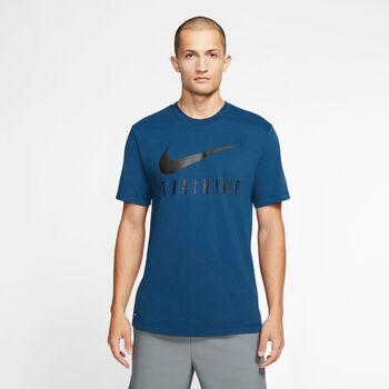 Nike Dri-FIT Training T-Shirt Herren blau