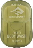 Trek & Travel Pocket Body Wash Reiseseifenblätter