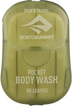 Sea to Summit Trek & Travel Pocket Body Wash Reiseseifenblätter weiß