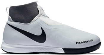 Nike Phantom Vision Academy Dynamic Fit IC Hallenfußballschuhe Jungen grau