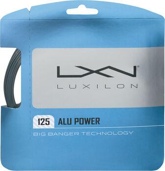 Luxilon  Alu PowerTe-Saite, 1,25mm, Kontrolle weiß