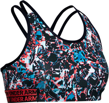 Under Armour HeatGear® Armour Novelty Sport-BH schwarz