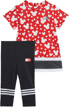 adidas Disney Minnie Mouse Sommer Set T-Shirt + Shorts rot