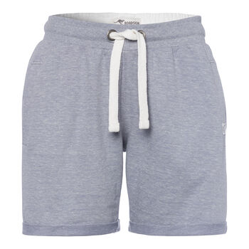 ROADSIGN Sweat-Short Damen grau