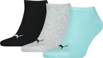 Puma Invisible 3er Pack Socken blau