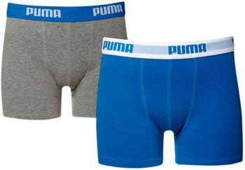 Puma 2-er Pack Unterhose Jungen blau
