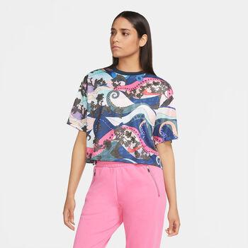Nike Swoosh Icon Clash T-Shirt Damen grün
