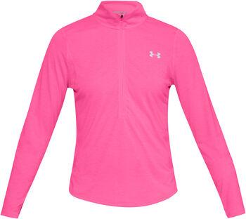 Under Armour STREAKER 2.0 Langarmshirt mit Halfzip Damen pink