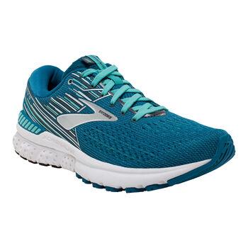 Brooks Adrenaline 19 W Laufschuhe Damen blau