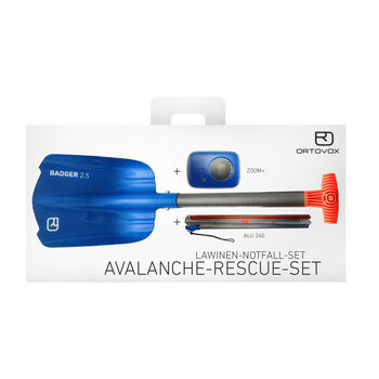 ORTOVOX Avalanche Rescue KIT Zoom+ blau