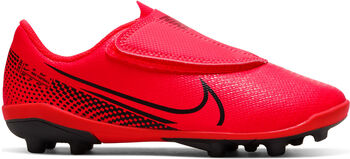 Nike Mercurial Vapor 13 Club MG Nockenfußballschuhe Jungen rot