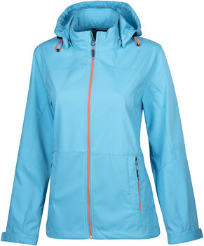 McKINLEY Everest Softshelljacke Wanderjacke Damen blau