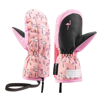 Leki Little Flamingo Zap Mi Skiandschuhe pink