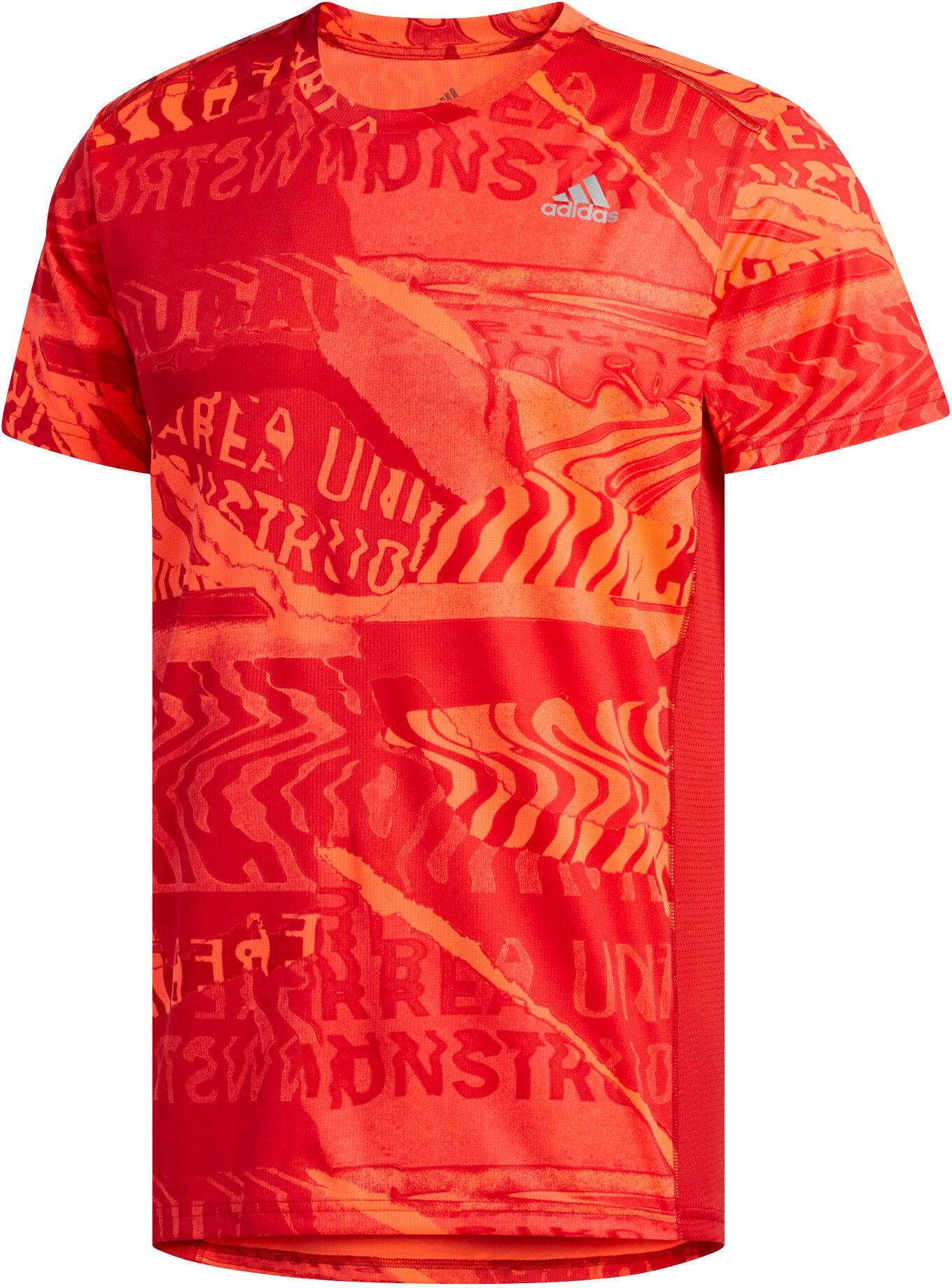 ADIDAS Herren T Shirt Graphic rot | S