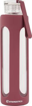 ENERGETICS Glass Bottle Trinkflasche pink