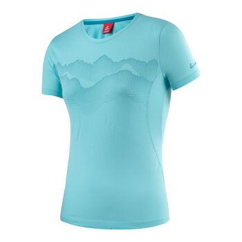 LÖFFLER Transtex® Single Shirt Damen blau