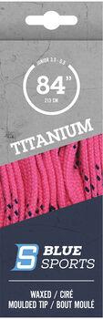 Blue Sports Titanium Pro Schuhbänder pink