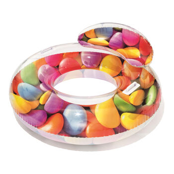 Bestway Candy Delight Schwimmring transparent