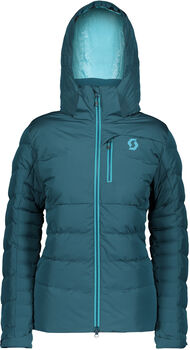 SCOTT Ultimate Down Snowboardjacke Damen blau