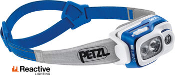 Petzl Swift RL Stirnlampe blau