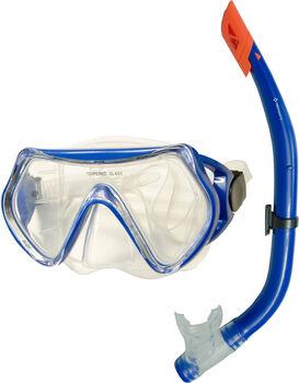 TECNOPRO ST5 Schnorchelset blau