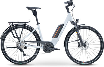 KTM Macina Pro Fun US E-Trekkingbike Damen grau