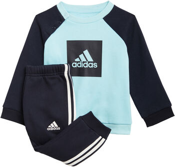 adidas 3-Streifen Jogginganzug Mädchen blau