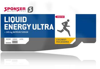 SPONSER Liquid Energy Ultra Energiekonzentrat cremefarben