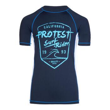 Protest Geller Rashguard blau