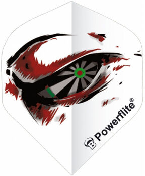 BULLS Dart-Flights transparent