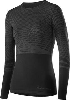 LÖFFLER Transtex® Warm Hybrid Langarmshirt Damen schwarz