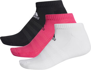 ADIDAS CUSH LOW Sneakersocken 3er-Pack pink