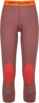 ORTOVOX 185 Rock'n'wool Tights Damen rot