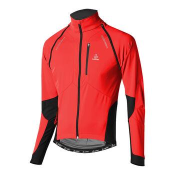 LÖFFLER San Remo Bike Zipp-Off-Jacke Herren pink