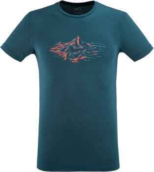 Millet Mountain T-Shirt Herren blau