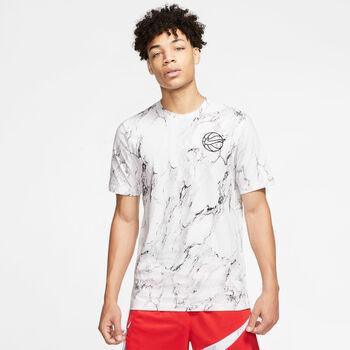 Nike Hbr Aop T-Shirt weiß