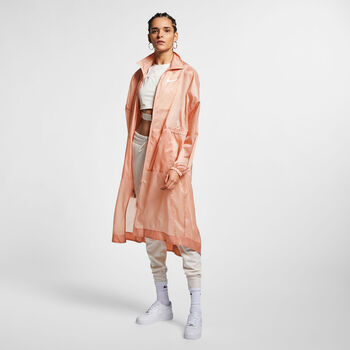 Nike Nsw Jkt Wvn Swsh Jacke Damen pink