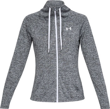 Under Armour Tech Twist Kapuzenjacke Damen schwarz
